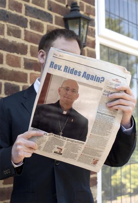 funny, pastor ralph, news